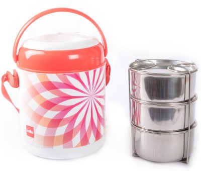 Cello 134596 3 Containers Lunch Box(800 ml)