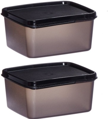 Tupperware XTRIM 2BOX 2 Containers Lunch Box(500 ml)  available at flipkart for Rs.272