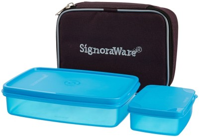 Signoraware 544A 2 Containers Lunch Box 700 ml