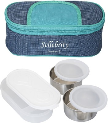 Sellebrity Mercury 2 Containers Lunch Box 650 ml