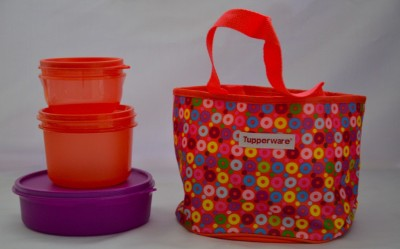 Tupperware Girls Day Out 3 Containers Lunch Box