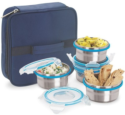 Steel Lock TIFFIN 1241 4 Containers Lunch Box