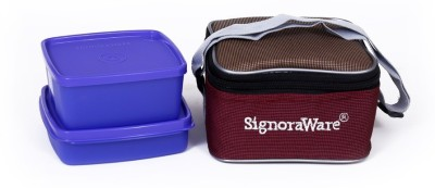 Signoraware Quick Carry  with Bag  511 2 Containers Lunch Box