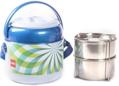 Cello 134600 2 Containers Lunch Box(600 ml)