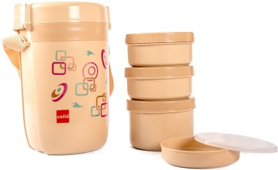 Cello 134626 4 Containers Lunch Box(900 ml)