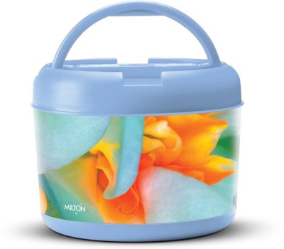 Milton Brunch Maxx-Blue 2 Containers Lunch Box at flipkart