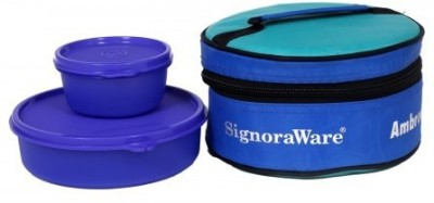 Signoraware M528 2 Containers Lunch Box 750 ml