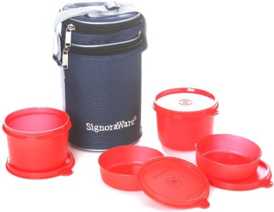 Signoraware 509 Executive With Bag 4 Containers Lunch Box 1260 ml