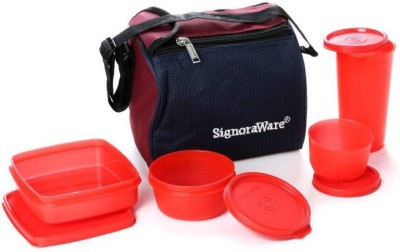Signoraware lujoso milton 4 Containers Lunch Box 900 ml