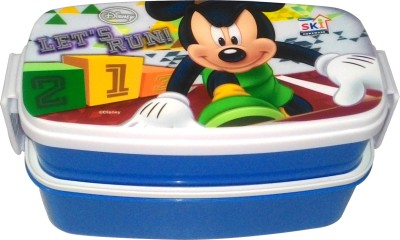 SKI Disney Let's Run 2 Containers Lunch Box(775 ml) at flipkart