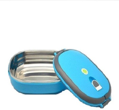 Magma Store Single Layer Oval 1600 ml Blue 1 Containers Lunch Box(600 ml) at flipkart