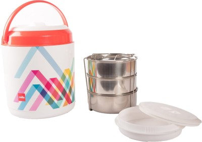 Cello 134635 3 Containers Lunch Box(800 ml)
