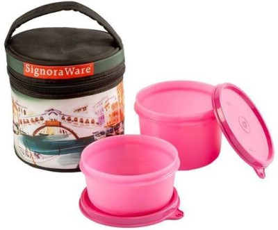 Signoraware venice executive small with Bag 2 Containers Lunch Box