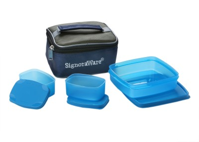 Signoraware Hot 'n' Cute 3 Containers Lunch Box