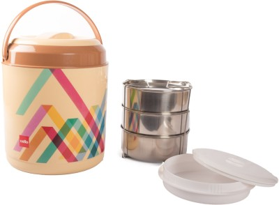 Cello 134634 3 Containers Lunch Box(800 ml)