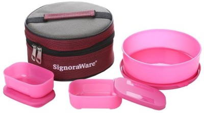 Signoraware 501 Classic 3 Containers Lunch Box