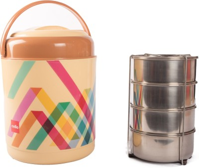 Cello 134589 4 Containers Lunch Box(1000 ml)