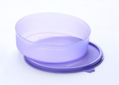 Signoraware Classic Round Small Container  Set of 2 Pcs    Mauve 3 Containers Lunch Box 500 ml