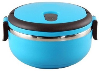 MOG Stainless Steel lujoso Single Layer Lunch Box 1 Containers Lunch Box(700 ml) at flipkart