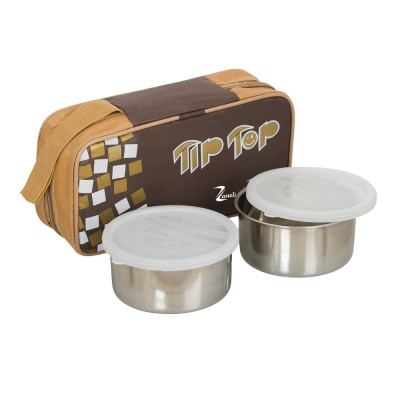 Zanelux LB 004 2 Containers Lunch Box 500 ml