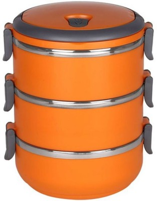 Hengli DARSH3CL 3 Containers Lunch Box(2100 ml) at flipkart