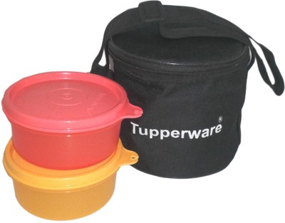 Tupperware 93 2 Containers Lunch Box(600 ml) at flipkart
