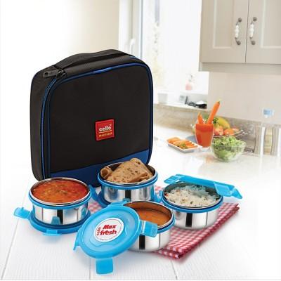 Cello Max Fresh Supremo 4 Containers Lunch Box 999 ml Cello Lunch Boxes