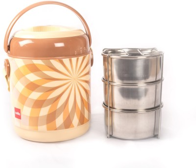 Cello 134594 3 Containers Lunch Box(800 ml)