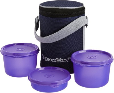 Signoraware 516 3 Containers Lunch Box 1000 ml