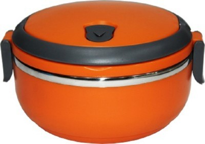 TANISI Single Layers Stainless Steel 1 Containers Lunch Box(750 ml) at flipkart