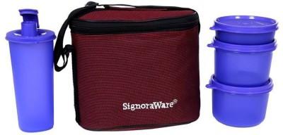 Signoraware Combo Executive Medium 4 Containers Lunch Box