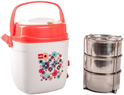 Cello 134610 3 Containers Lunch Box(750 ml)