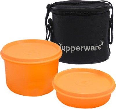 Tupperware lunch box with bag 2 Containers Lunch Box(750 ml)