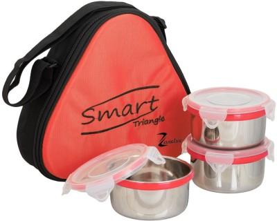 Zanelux Smart Tri. 3 Containers Lunch Box 750 ml