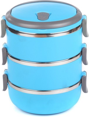 Easy Lock Three Layer 3 Containers Lunch Box(2100 ml) at flipkart