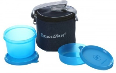 Signoraware Executive Blue  Small 630ml  2 Containers Lunch Box 630 ml