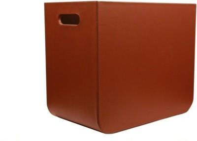 MD Design Floor Standing Magazine Holder(Brown, Polypropylene)
