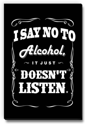 Seven Rays I Say No To Alcohol Fridge Magnet Pack of 1 Multicolor Seven Rays Magnets