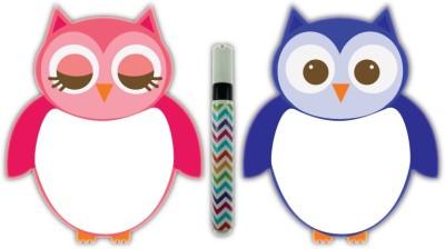 Nourish Magnetic Owl whiteboard Kitchen Organiser Magnet(Pack of 2)  available at flipkart for Rs.299