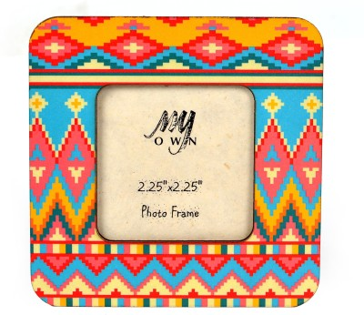 My Own Aztec E Fridge Magnet Pack of 1 Multicolor
