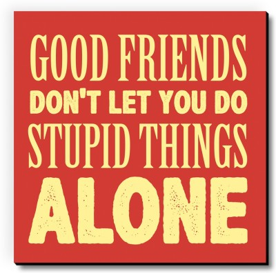 Seven Rays Food Friends Stupid Things Fridge Magnet Pack of 1 Multicolor