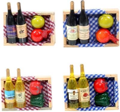 Cortina Fruit-FM-SO4-011 Fridge Magnet Pack of 4(Multicolor) at flipkart