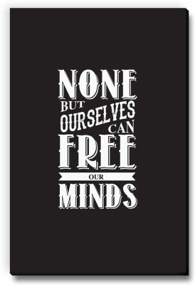Seven Rays None But Ourselves Can Free Our Minds Fridge Magnet Pack of 1 Multicolor