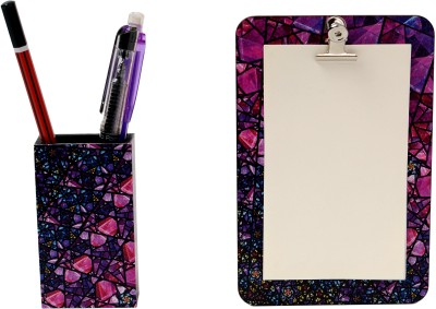 My Own Fireworks Magnetic Note Pads Pack of 2 Purple