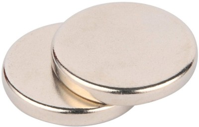 Neomag Mini Pack 12mm x 2mm Disc Shaped ( 10 pieces ) NdFeB Grade N35- Ni Multipurpose Office Magnets Pack of 10(Silver) at flipkart