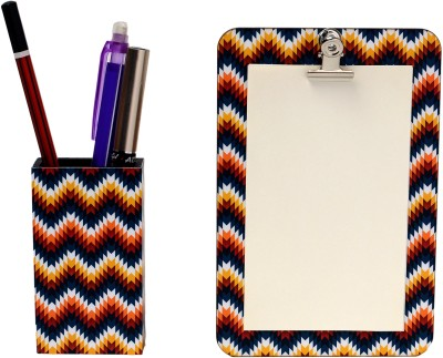 My Own Zig Zag Magnetic Note Pads Pack of 2 Multicolor
