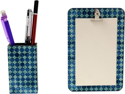 My Own Moroccan Magnetic Note Pads Pack of 2 Blue
