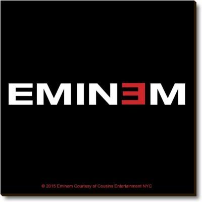 Bravado Eminem Logo Fridge Magnet, Door Magnet Pack of 1 Multicolor