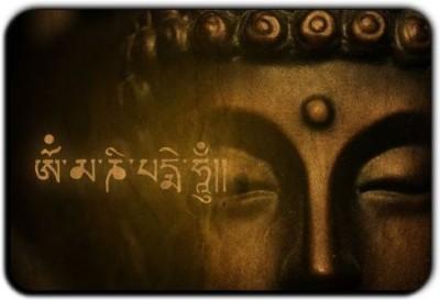 Posterboy Gautama Buddha Fridge Magnet Pack of 1 Multicolor