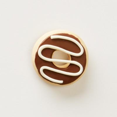 LittleThings Chocolate Donut Fridge Magnet Pack of 1 at flipkart